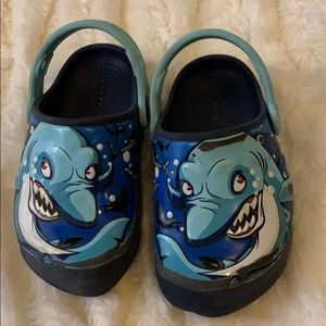 Light-Up Crocs - Boys Size 9